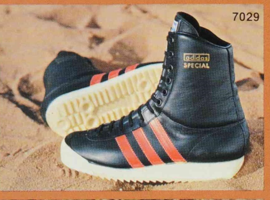 11 – Parachuting Boot – What adidas made a boot for parachuting? Yes, why  not! The Fallschirmspringerstiefel to give it its German name debuted in  1977.